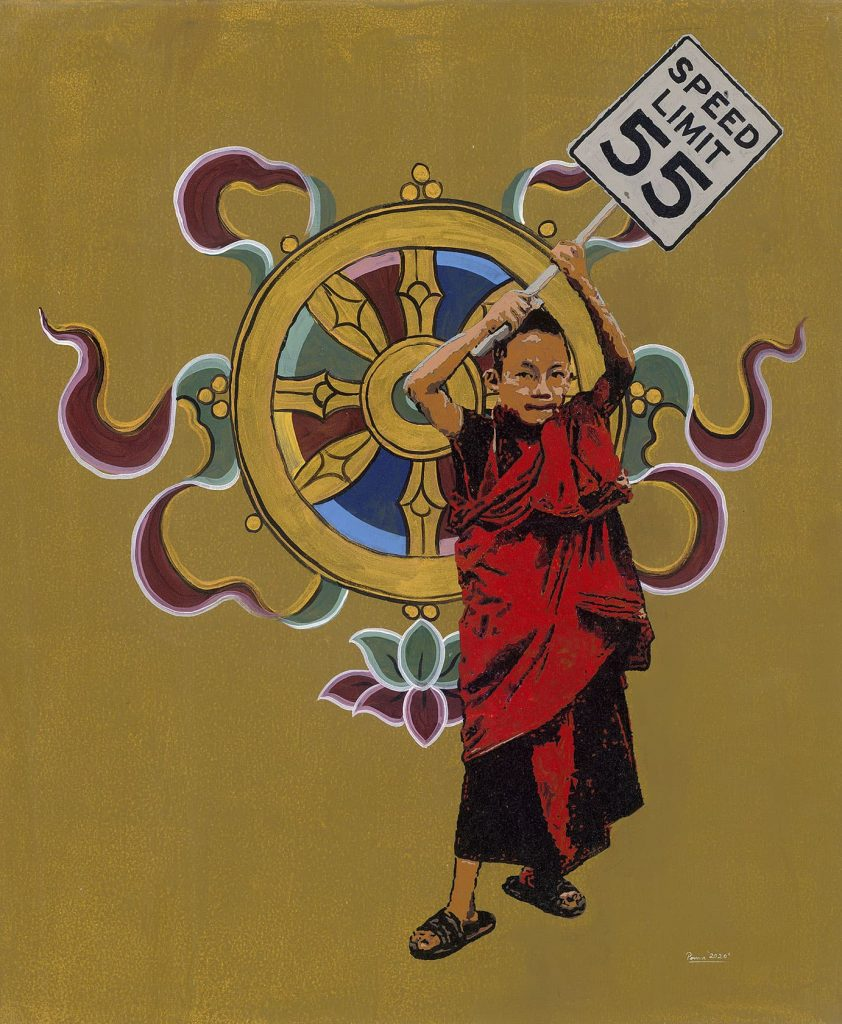 Conversations with the Buddha Speed Limit